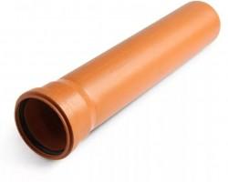 Труба ПП гладкая для наружной канализации 110х3,2х500