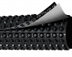 Профилированная геомембрана Planter Geo, шир. 2,0*15 м.п, 30 м2
