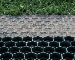 Газонная решетка Гео Газон черная 40мм