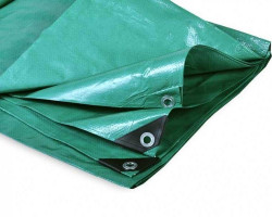 Тент облеченный 120 гр (цвет зеленый)