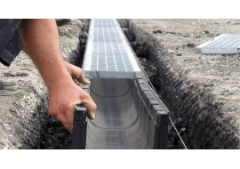 Ливневая канализация участка или система отвода дождевой и талой воды