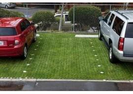 Объемная георешетка для парковки под легковой автомобиль