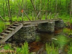 Защита мостовых опор от размывания