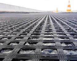 Геосетка стеклянная ССНП 50/50-25 в асфальт шир. 4м* 100 м.п., 400 м2