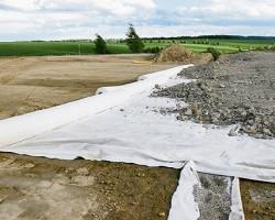 Геотекстиль Дорнит ГЕО 250 гр/м2 шир. 2х50 м.п, 100 м2