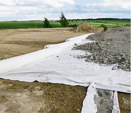 Геотекстиль Дорнит ГЕО 250 гр/м2 шир. 3х100 м.п, 300 м2