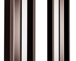 Штакетник металлический, толщ. 120 мм, 2-х стор.