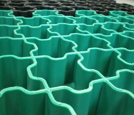 Газонная решетка Гео Газон зеленая 50мм