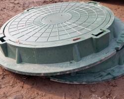 Люк полимерно-песчаный легкий до 5т